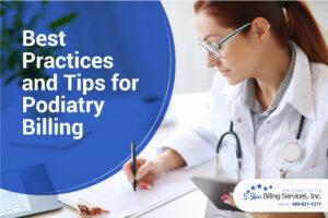 podiatry billing tips