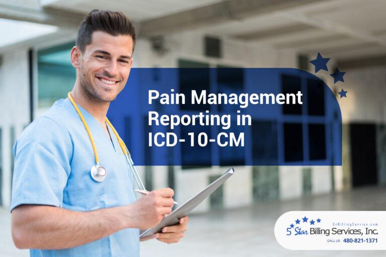 Pain Management Codes